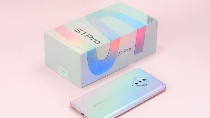 Harga dan Spesifikasi Handphone Vivo S1 Pro Edisi 256 GB, Bonus Dapat Produk Kecantikan Maybelline