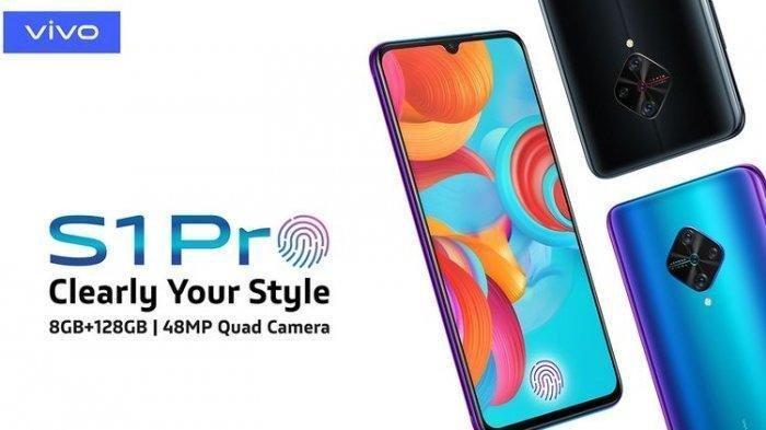 Inilah Penampakan Vivo S1 Pro, Ponsel Canggih Punya Spesifikasi 4 Kamera di Punggung