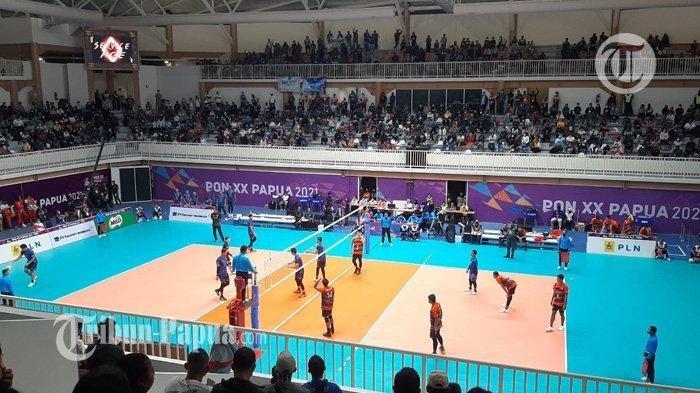 Kandaskan DKI Jakarta, Putra Jawa Barat Raih Medali Emas Cabang Olahraga Voli PON XX Papua 2021