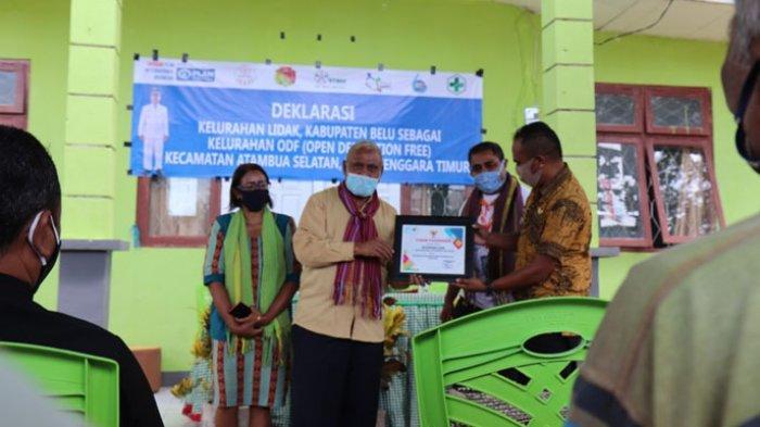 Wabup Belu, JT Ose Luan Hadir Deklarasi Desa STBM