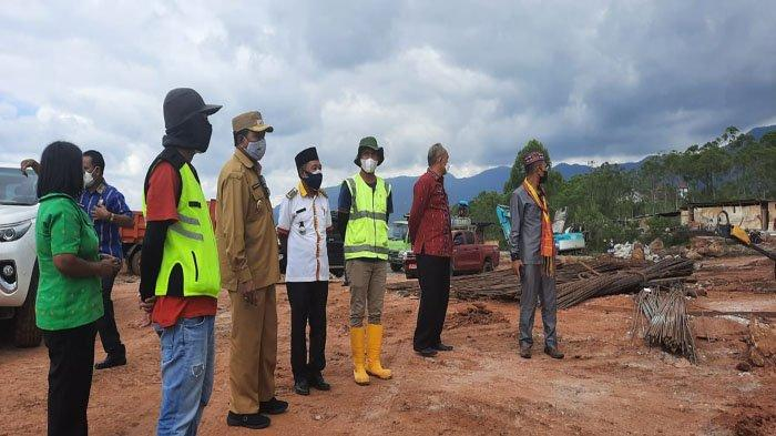 Wabup Jaghur Pantau Progres Pembangunan Rumah Sakit Pratama Watunggong