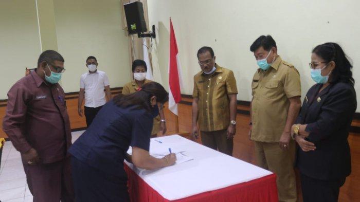 Wabup Kupang Pimpin Sertijab Pimpinan Tinggi Pratama dan Pejabat Administrator