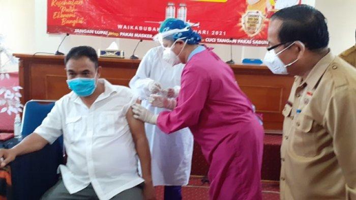 Wakil Bupati Sumba Barat Canangkan Vaksinasi Virus Corona