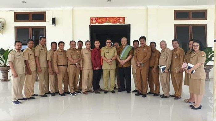 Wabup Toni Terima Kunjungan Wakil Rektor UNY