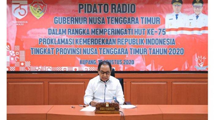 Wagub Nae Soi Bacakan Pidato Gubernur NTT pada Perayaan HUT Kemerdekaan RI