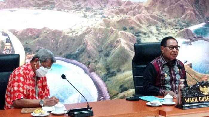 Pemprov NTT Cairkan Dana PON. Wagub NTT Jadi Chief de Mission