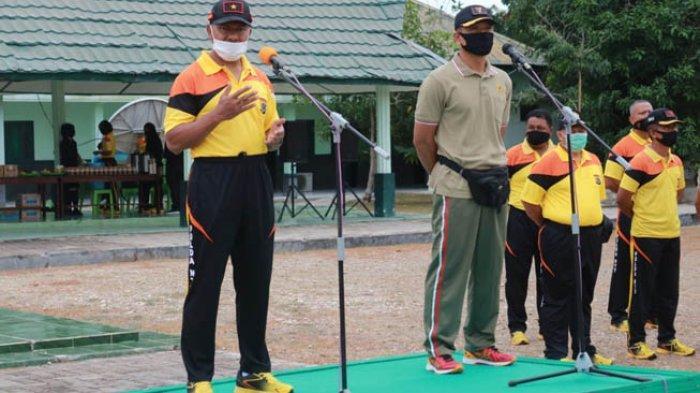 Wakapolda NTT Ikut Olahraga Bersama Anggota Brigif 21 Komodo di Naibonat
