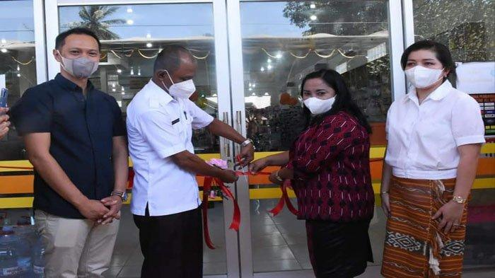 Wakil Bupati Belu Lakukan Grand Opening Kreatif Mart 2 Atambua