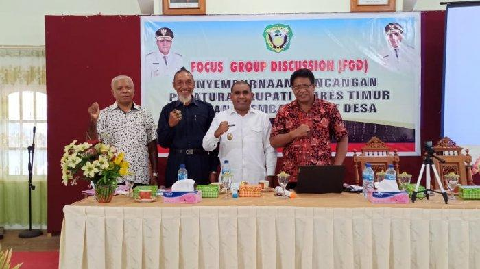 Wabup Agus Boli Buka Diskusi Lembaga Adat Desa di Flores Timur