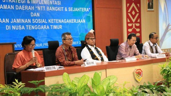 Wakil Gubernur NTT Josef Nae Soi Minta BPJS Lindungi Pekerja di NTT
