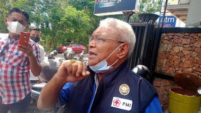 Wakil Wali Kota Kupang, Herman Man Kecewa Dengan Pihak Poltekkes Sebabkan Kerumunan