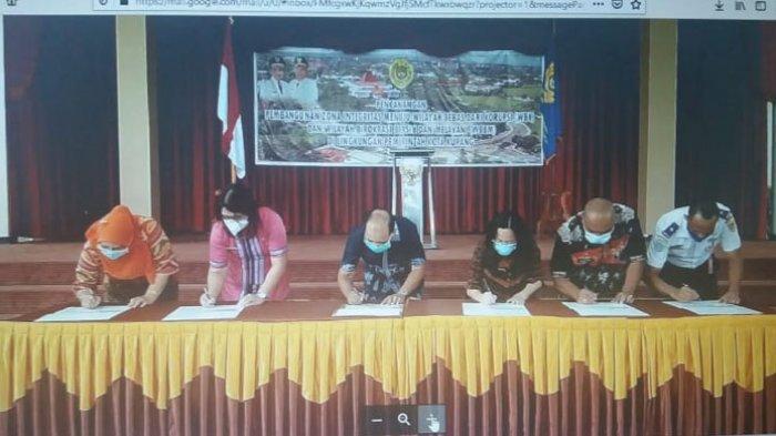 Wali Kota Kupang Canangkan Pembangunan Zona Integritas di Lingkup Pemerintah Kota Kupang