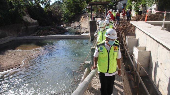 Saat Ini Pembangunan Kali Dendeng di Kota Kupang Capai 25 Persen, 2022 Ditargetkan Beroperasi