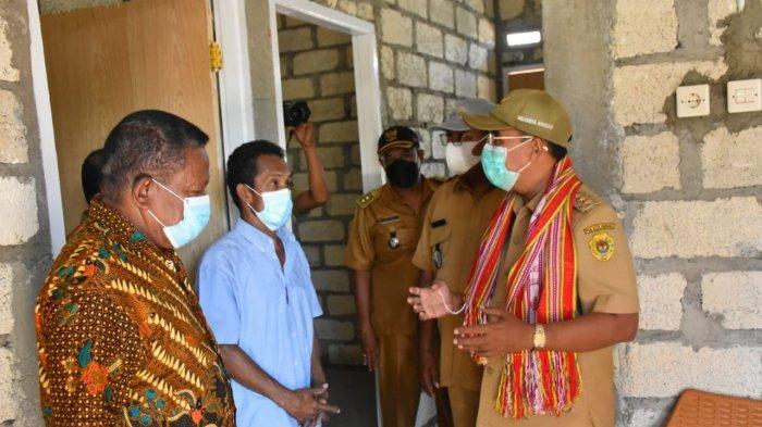 Pemkot Terus Lanjutkan Program Bedah Rumah Bagi Warga Kota Kupang