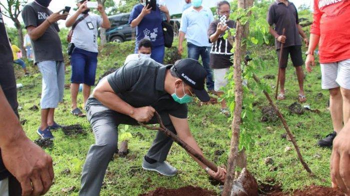 Wali Kota Kupang Tanam Pohon