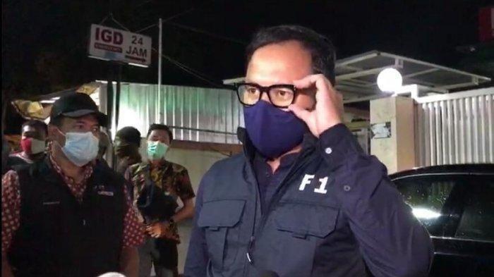 Walikota Bogor Bima Arya saat sambangi RS Ummi tempat Habib Rizieq Dirawat
