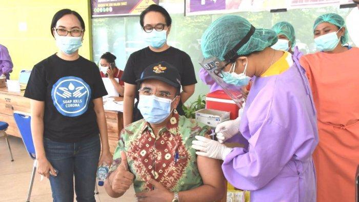 Walikota Kupang akan Tambah Tenaga Kesehatan untuk Bantu Vaksinasi di Kejati NTT