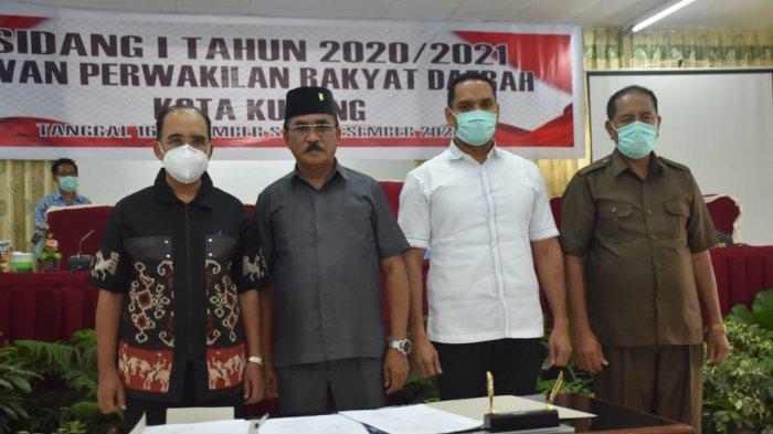 Pemerintah dan DPRD Kota Kupang Resmi Tetapkan APBD 2021
