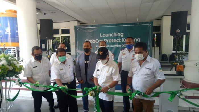 Walikota Kupang Launching GrabCar Protect Kupang