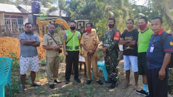 Warga di Maulafa Kupang Inisiatif Buka Jalan Swadaya