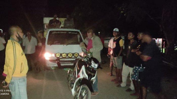 Warga Dusun Baluk-Bola Hadang Mobil Pengangkut Ikan, Polsek Bola Ambil Langkah Ini