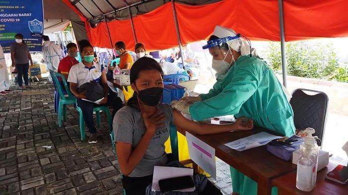 Kejari Manggarai Barat Gelar Vaksinasi Massal Covid-19 untuk Masyarakat