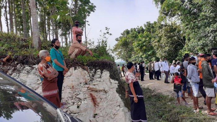 Warga Mulai Berdatangan di Lokasi Food Estate, ingin Lihat Presiden Joko Widodo