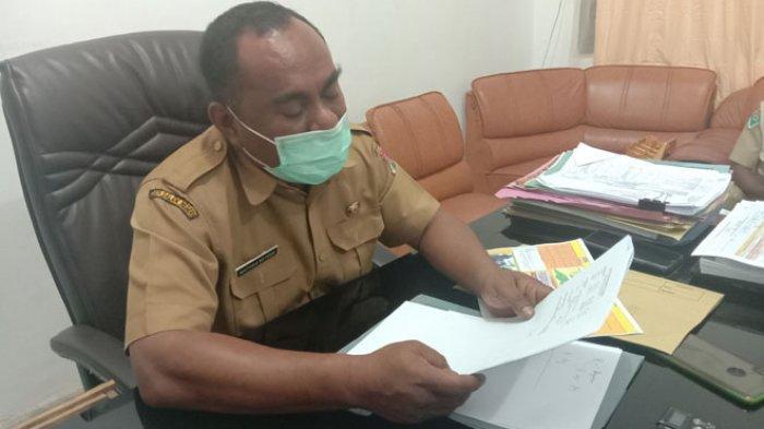 Kepala Dinas Kesehatan Kabupaten Lembata Mathias AK Beyeng