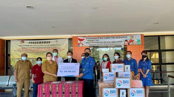 BRI Peduli Covid-19, Salurkan Bantuan Sarana Prasarana Kesehatan ke Rumah Sakit