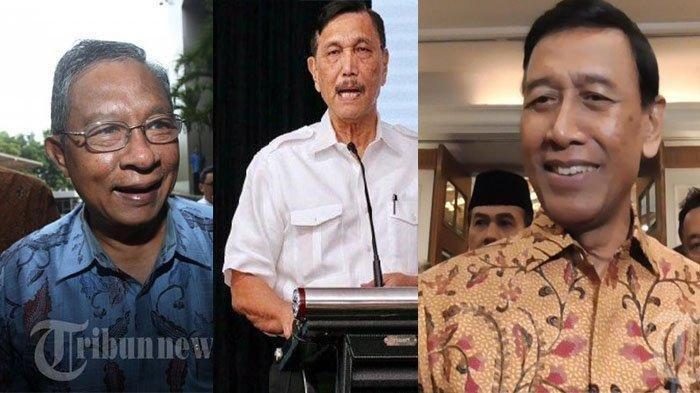 Bandingkan Kekayaan 4 Menko di Kabinet Kerja I Jokowi, Ada Wiranto dan Luhut, Siapa yang Terkaya?