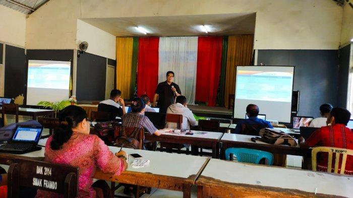 SMAK Frateran Ndao Ende Gelar Workshop Akreditasi