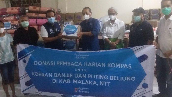 Yayasan Dana Kemanusiaan Kompas Berempati Buat Korban Bencana di Malaka