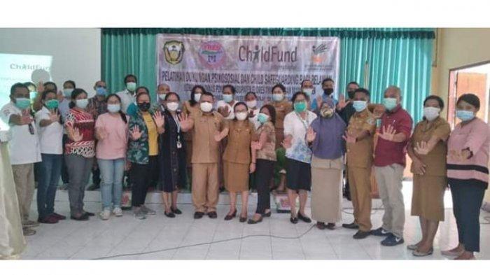 Yayasan Fren & ChildFund Internasional Gelar Pelatihan Dukungan Psikososial Korban Bencana Adonara