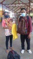 Tiba di Bali, Beatrix Indah dan Adriel Sikuteru Siap Jalani Perawatan di RS Sanglah