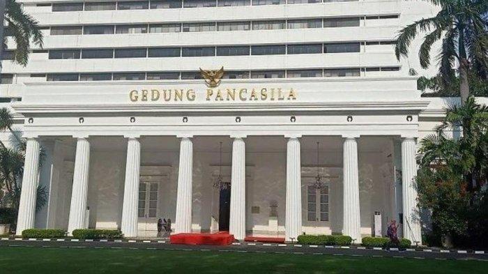Upacara Peringatan Hari Lahir Pancasila di Gedung Pancasila Diikuti Presiden Jokowi Secara Virtual