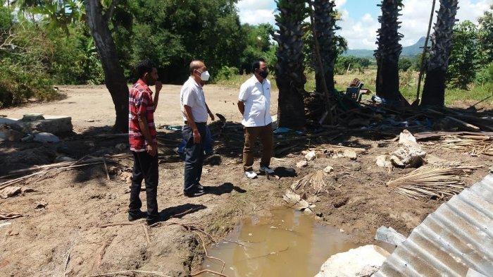 Sembilan Unit Rumah Warga Korban Banjir di  Kabupaten Belu Segera Dibangun