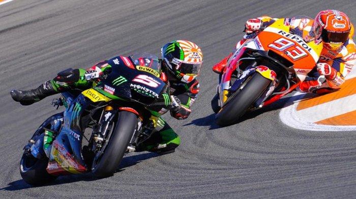 Hasil MotoGP Ceko 2018 Hari ini - Johann Zarco Asapi Marc Marques dan Dovizioso. Rossi?