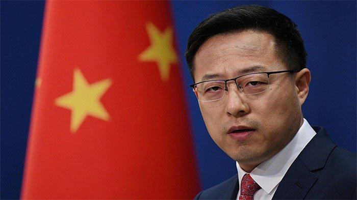 Juru bicara Kementerian Luar Negeri China Zhao Lijian