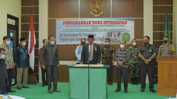 Pengadilan Agama Atambua Canangkan Zona Integritas Menuju Wilayah Bebas dari Korupsi
