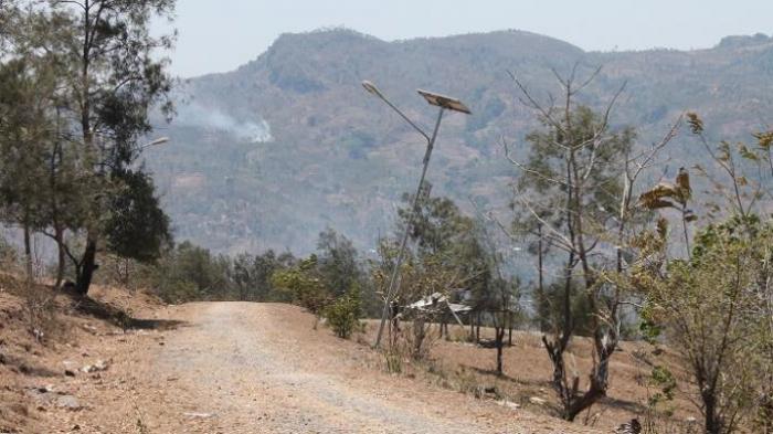 Inilah lokasi zona netral yang pada tahun 2012 lalu terjadi bentrokan antara warga Indonesia dan Timor Leste