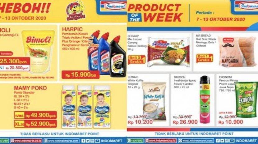 Katalog Promo Indomaret Pekan Ini Belanja Heboh Super Hemat Mulai 28 Oktober 3 November 2020 Pos Kupang