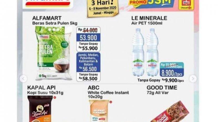 Katalog Promo Jsm Alfamart 6 8 Novembe 2020 Beli 2 Gratis 1 Tambah Potongan Rp 1 000 Pos Kupang