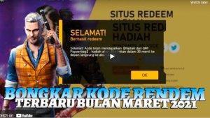 Kode Redeem FF 28 Maret 2021, Cara Lengkap Tukar Kode ...