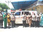 Rumah Sakit Bhayangkara Titus Uly Kupang Dapat Hibah Satu Unit Mobil Ambulance
