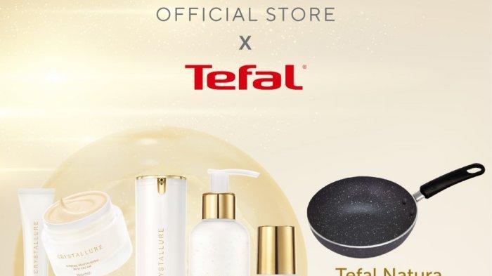 1. Crystallure X Tefal Full regime glowing package