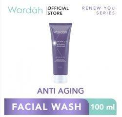 1. Wardah Renew You Anti Aging Facial Wash 100 ml