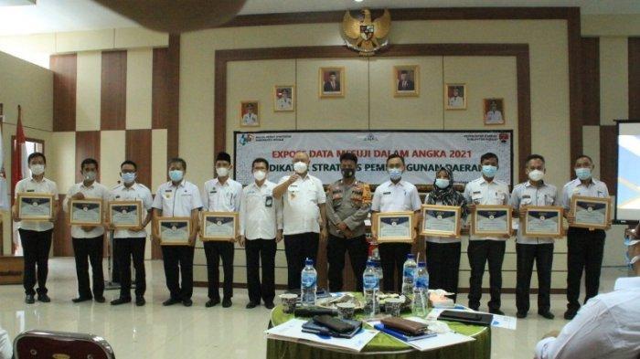 10 Instansi Pemerintahan di Mesuji Raih BPS Award