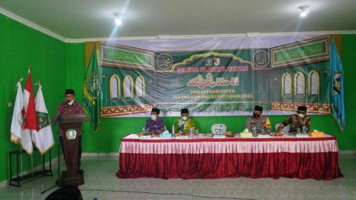 100 Orang Peserta Ikuti Seleksi Tilawatil Quran di Tulangbawang Barat