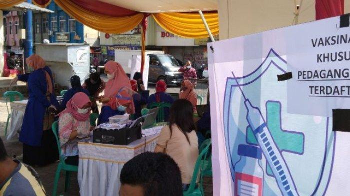 1.100 Dosis Vaksin Covid-19 Disiapkan untuk Vaksinasi Pedagang Pasar Tradisional di Bandar Lampung