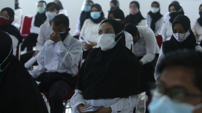 Peserta SKD CPNS Tanggamus Lampung Wajib Pakai Masker Rangkap